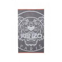kenzo-accessoris-handklaede-logo-tiger-grå-F868DR012JDC