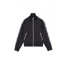 Kenzo-logo-bluse-jakke-sort-F962BL756950