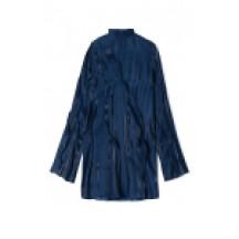 kenzo-mini-wave-kjole-midnatsblå-overdel-FA52RO1915AD