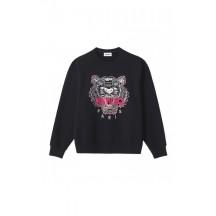 kenzo-tiger-sweatshirt-overdel-sort-fa62sw8244xa