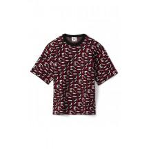 kenzo-sport-t-shirt-overdel-rød-FA62PU5313SC