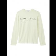 proenza-schouler-white-label-long-sleeve-t-shirt-gul-wl2134237