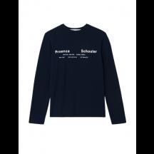 proenza-schouler-white-label-Long-sleeve-t-shirt-sort-WL2134237
