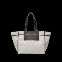 proenza-schouler-white-label-xl-morris-taske-sort/hvid-wb213001
