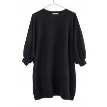 ragdoll-la-oversize-sweatshirt-flame-overdel-sort-S243