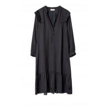 zadig-voltaire-rygg-satin-kjole-sort-sjcp0401f