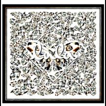 lala-berlin-cube-butterfly-black-white-tørklæde-1212-AC-1006