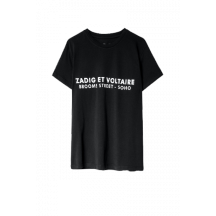 zadig-voltaire-zoe-address-t-shirt-sort-skts1803f