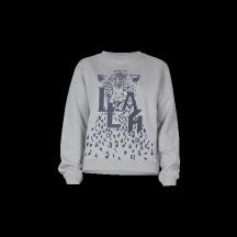 Lala-berlin-sweatshirt-irya-leo-grå-overdel-1216-CK-2022