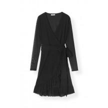 ganni-Mesh-dot-sla-om-kjole-sort-f2171