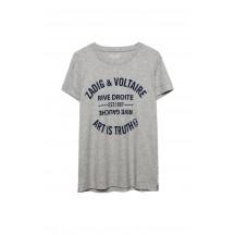 zadig-et-voltaire-walk-blason-t-shirt-gra-overdel-wgtr1810f