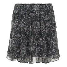 iro-dazzle-nederdel-sort-print-18WWM31DAZZLE