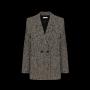 anine-bing-fishbone-blazer-cream-black-A-01-2001-001 style=