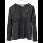 Ragdoll-la-bluse-overdel-t-shirt-leopard-mørkegrå-S247 style=