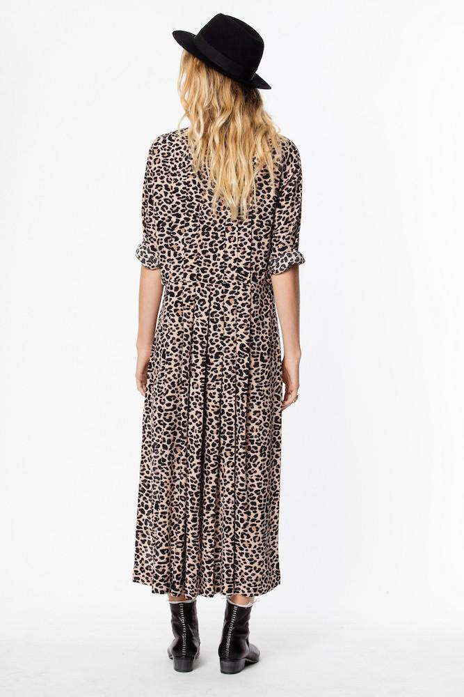 74bc6db1e92b ... zadig-et-voltaire-roux-kjole-leopard-SHCP0404F 1 -